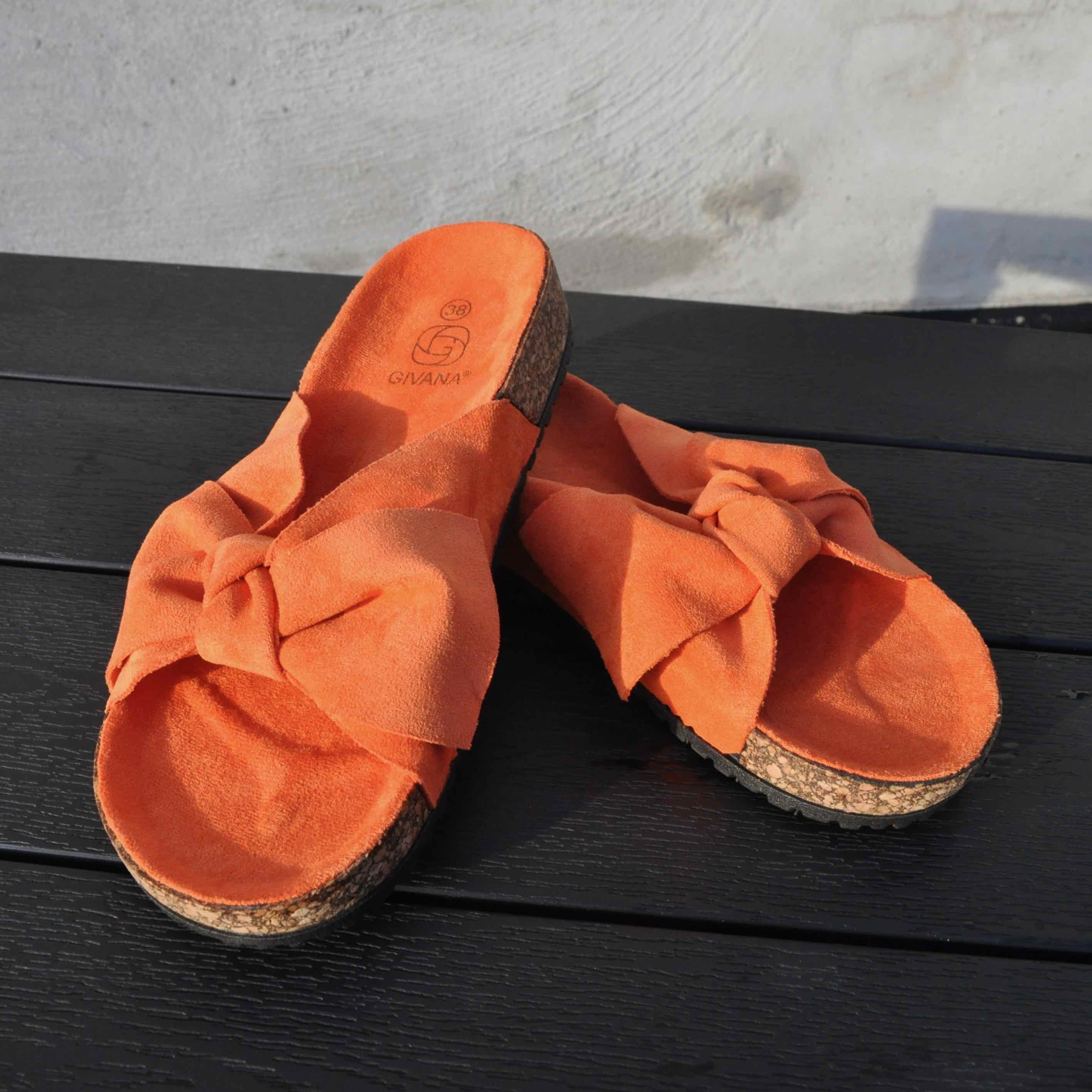 Ideal Shoes dame sandal